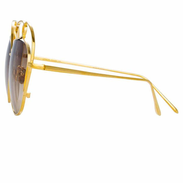 853 C4 Special Sunglasses in Gold Frame