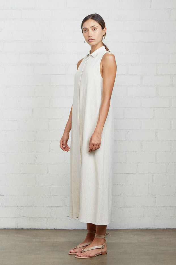 Linen Sofi Dress - The Edition Shop