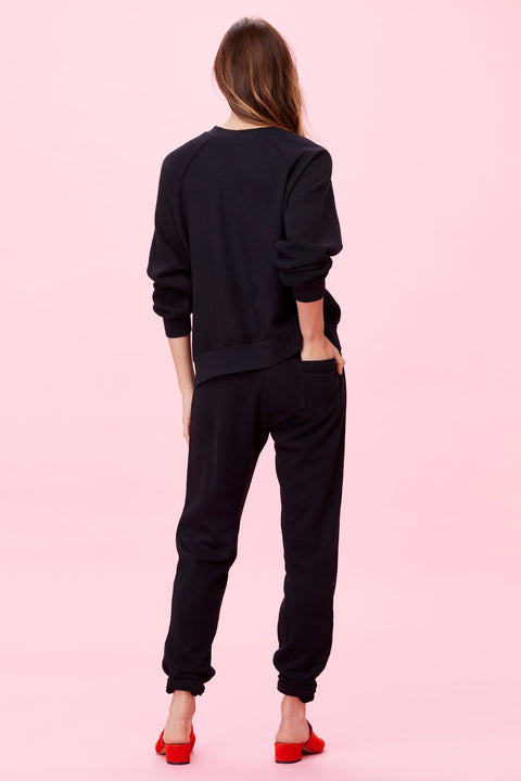 Rosanna Sweatpant in Black