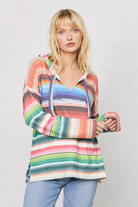 Brushed Baja Beach Poncho