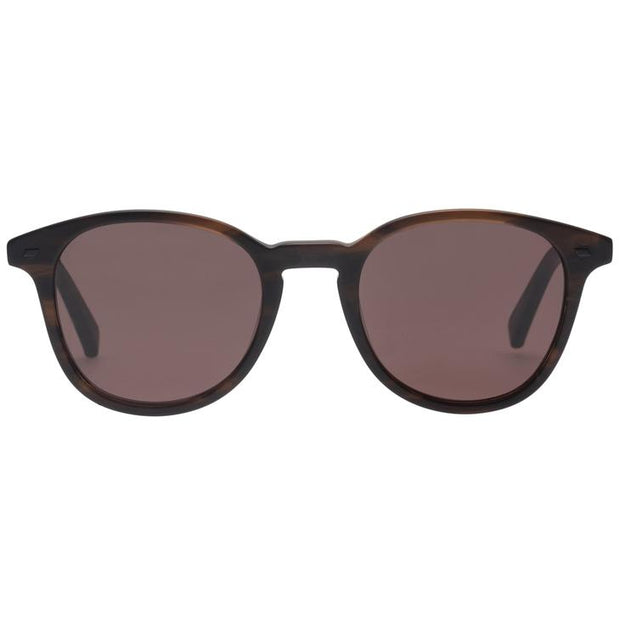 Bandeau Sunglasses in Matte Dark Oak - The Edition Shop