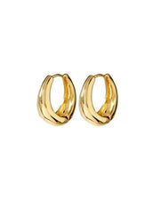 Marbella Hoops in Gold