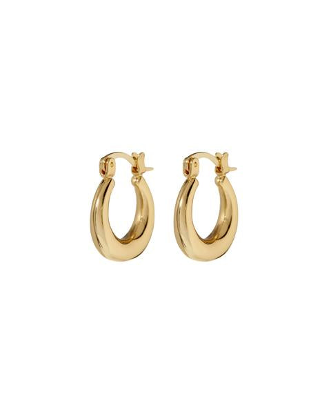 Mini Martina Hoops in Gold