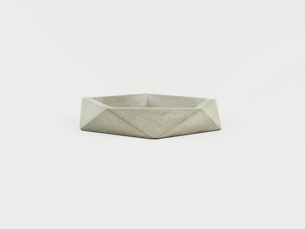 Shallow Dish in Grey