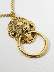 The Vixen Door Knocker Necklace