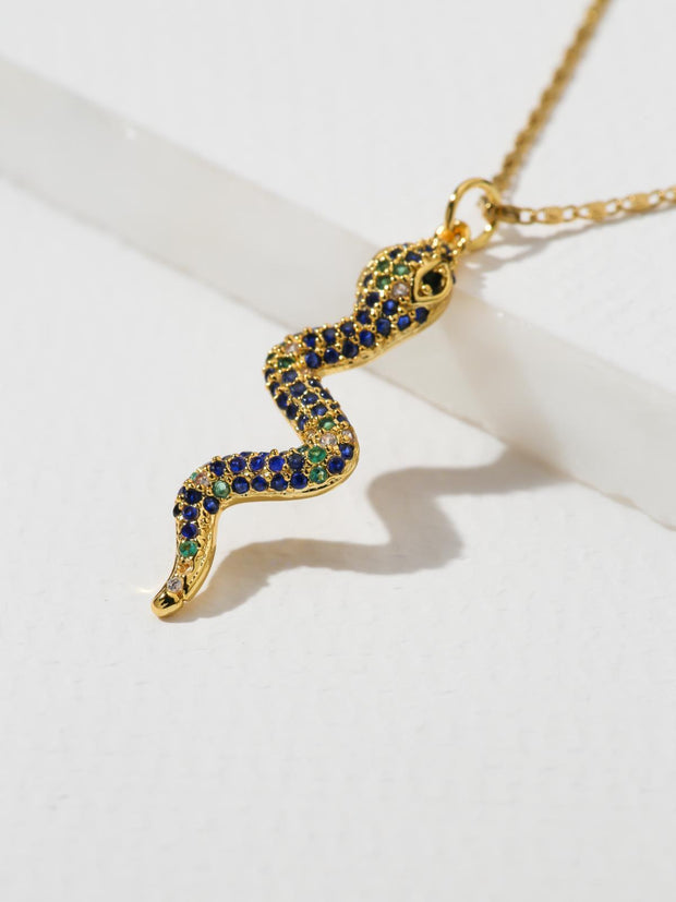 Hedy Snake Necklace