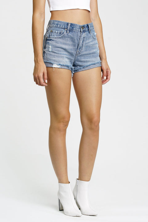 River Blue Kylee Relaxed High Rise Short - The Edition Shop