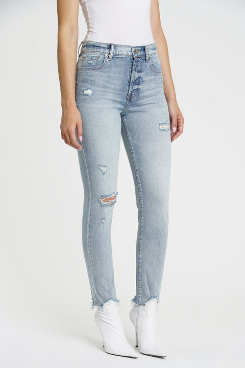 Nico High Rise Mom Jean in Whispers - The Edition Shop