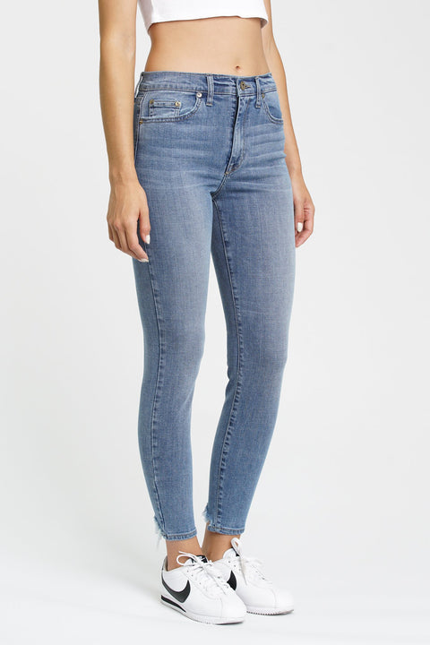 Aline High Rise Skinny in Roll On