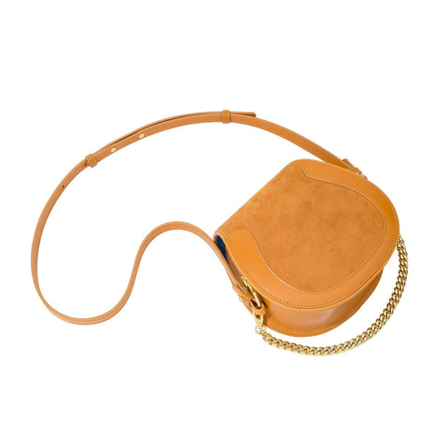 Ellea Mini Saddle in Cognac
