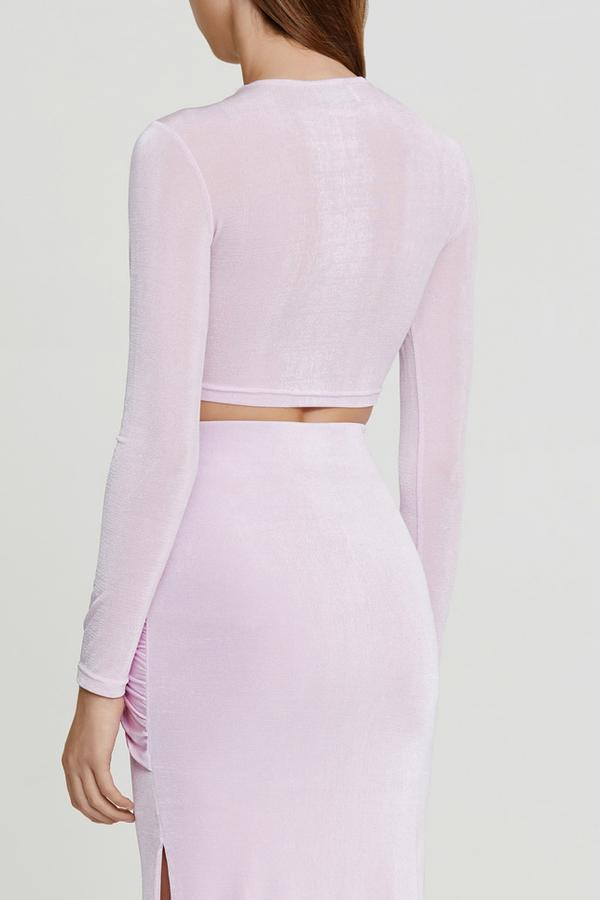 Evelyn Top Lilac