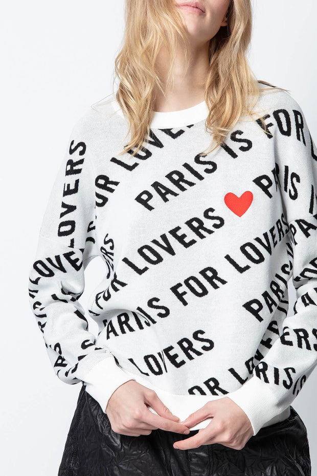 Anouck St Valentin Sweater - The Edition Shop