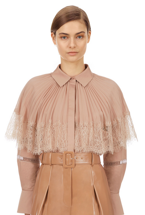 Poplin Lace Shirt (POS Only Product)