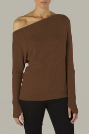 Sweater Knit Slouch Top