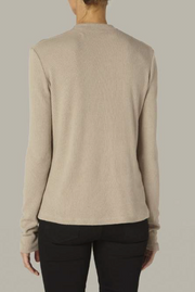 Sweater Knit Long Sleeve Crew