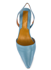 Virtue Leather Slingback