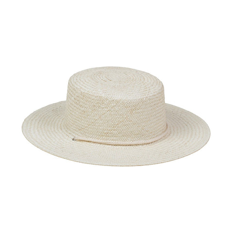 Wanderer Boater in Cream