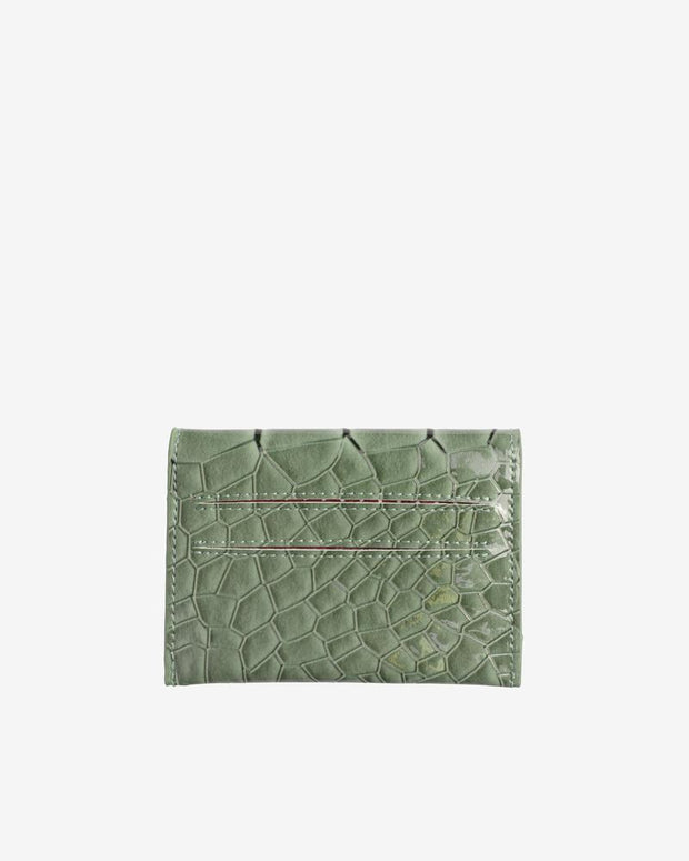 Wallet in Dusty Green - The Edition Shop