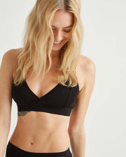 Classic Bralette in Black - The Edition Shop