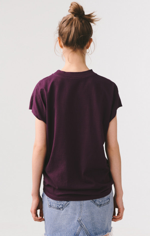 Sleeveless Boxy Oversized Tee