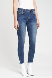 Audrey Mid Rise Skinny in London Mist - The Edition Shop
