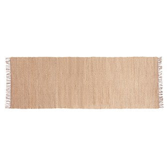 Hand-Woven Jute & Chenille Runner - The Edition Shop
