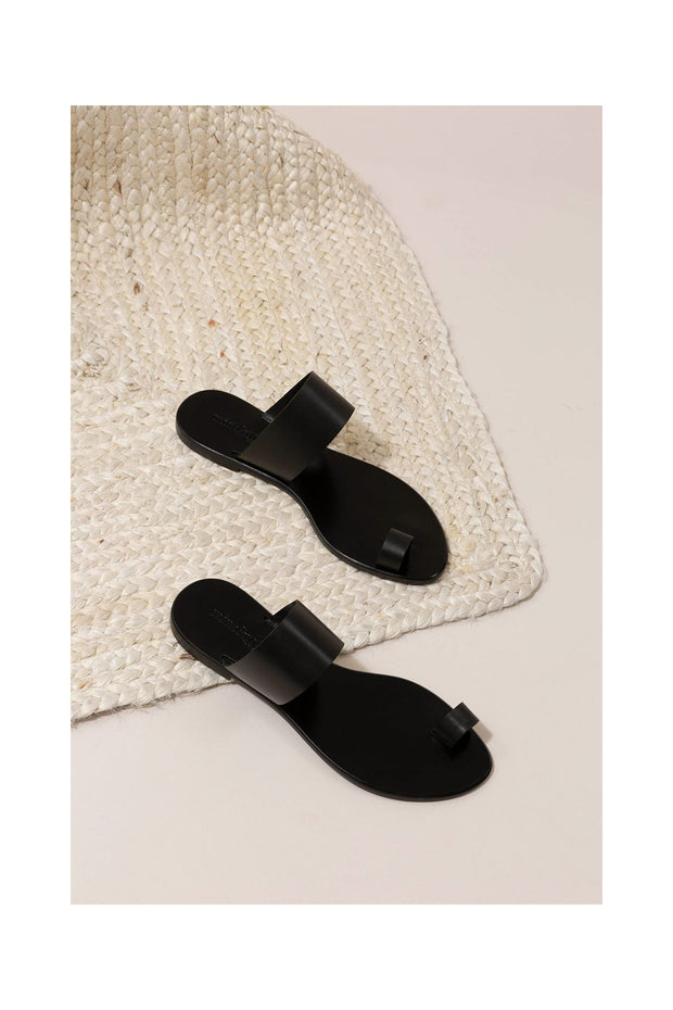 Guida Sandals in Black - The Edition Shop