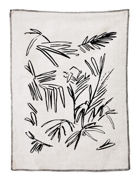 Tulum Palm Tea Towel - The Edition Shop