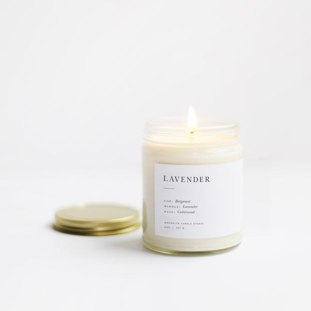 Minimalist Candle in Lavender
