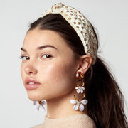 Crystal Headband in Ivory