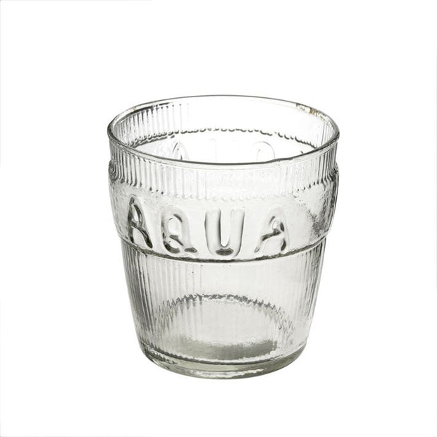 Aqua Drinking Glass - The Edition Shop