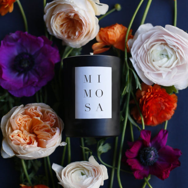 Noir Candle in Mimosa