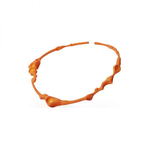 Failé 3D Magnet Choker in Sunset Orange