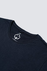 Premium Pima Crew Neck - Dark Midnight