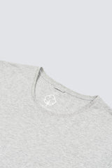 Premium Pima Crew Neck - Heather Grey