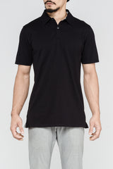 Premium Pima Summer Polo - Black
