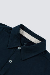 Premium Pima Summer Polo - Dark Midnight