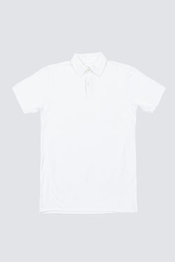 Premium Pima Summer Polo - White