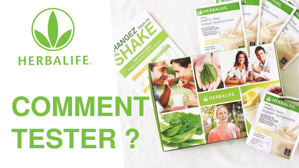 How to test products Herbalife to begin?