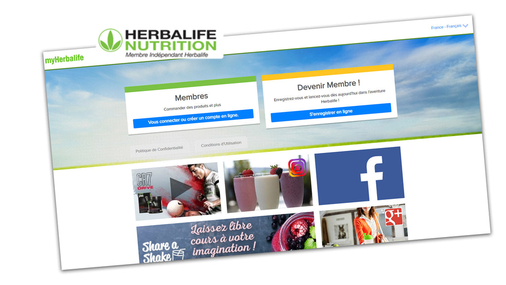 Wat is myherbalife en hoe te registreren ?