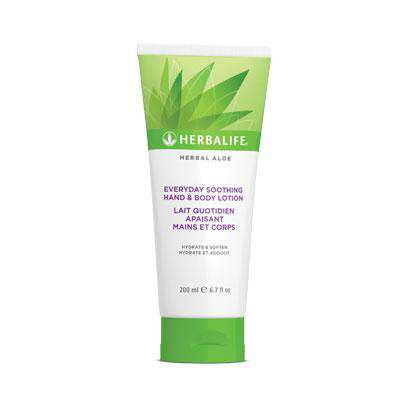 Lait Quotidien Apaisant Mains et Corps Herbal Aloe - Membre Herbalife