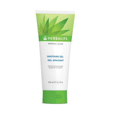 Gel calmante Herbal Aloe - Membro da Herbalife