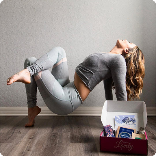 Yogi Secret yoga wellness subscription box.