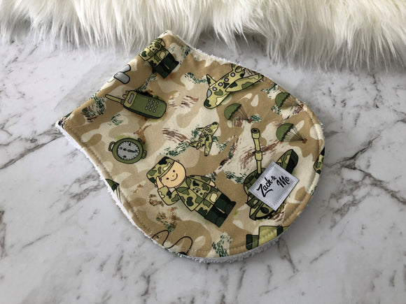 Army Burp Cloth