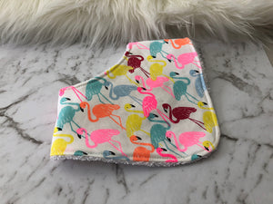 Bright Flamingo Dribble Bib