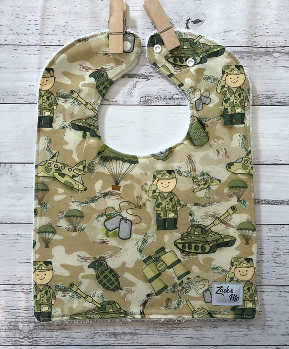 Army Feeding Bib
