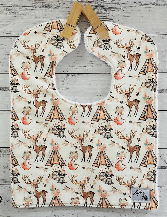 Woodland Feeding Bib