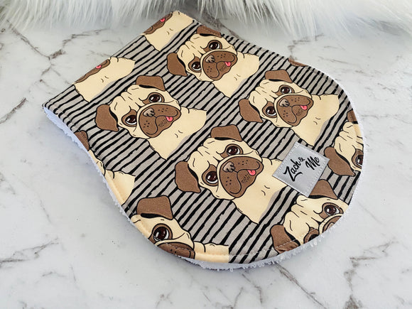 Pugs Burp Cloth