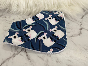 Blue koala Dribble Bib