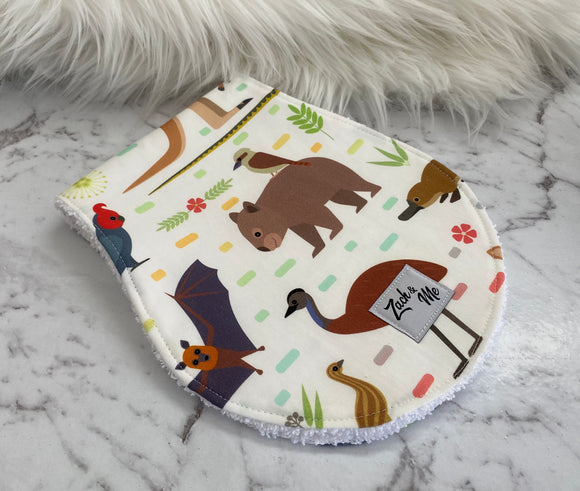 Aussie Aussie animals Burp Cloth